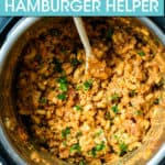 hamburger helper in an instant pot