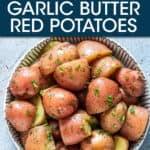 RED POTATOES IN A BOWL