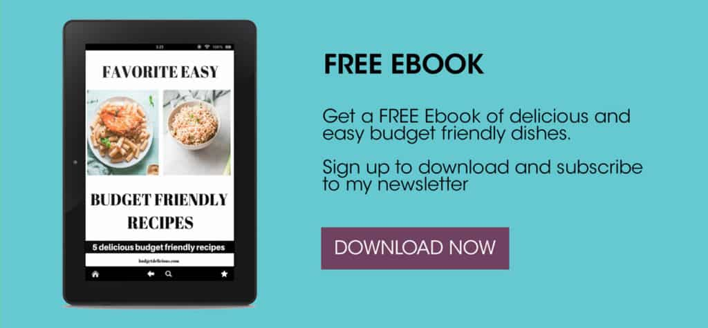 a subscribe to a free budget friendly ebook graphic